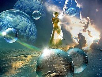 Dama de Avalon y las Nueve Morgens