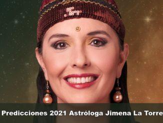 Predicciones 2021 Jimena La Torre